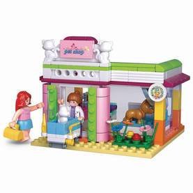 Rakennuspalikat Tyttöjen Unelma-Sarja Pet Shop