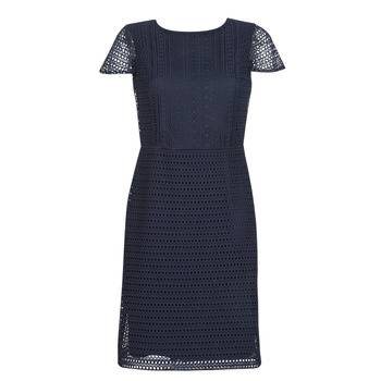 Image of Ralph Lauren Lyhyt mekko NAVY SHORT SLEEVE DAY DRESS