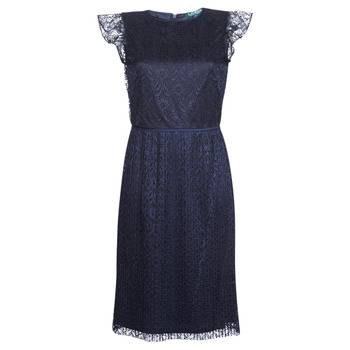 Image of Ralph Lauren Lyhyt mekko LACE CAP SLEEVE DRESS