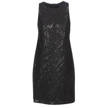 Image of Ralph Lauren Lyhyt mekko SEQUINED SLEEVELESS DRESS