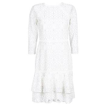 Image of Ralph Lauren Lyhyt mekko LONG SLEEVE-LACE DAY DRESS