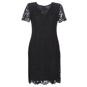 Image of Ralph Lauren Lyhyt mekko SCALLOPED LACE DRESS