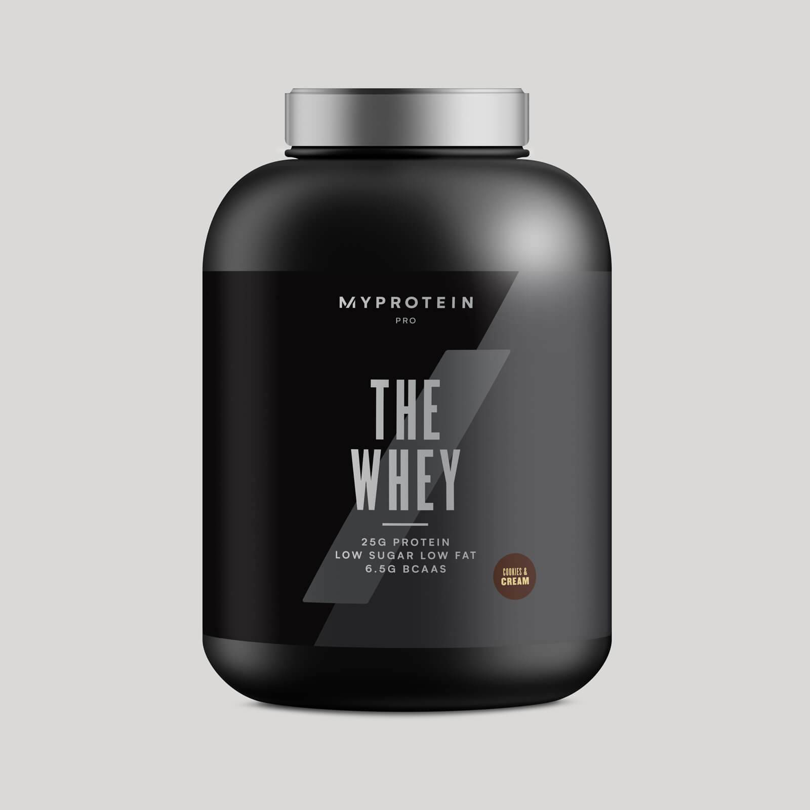 Myprotein THE Whey - 60 Servings - 1.8kg - Cookies n