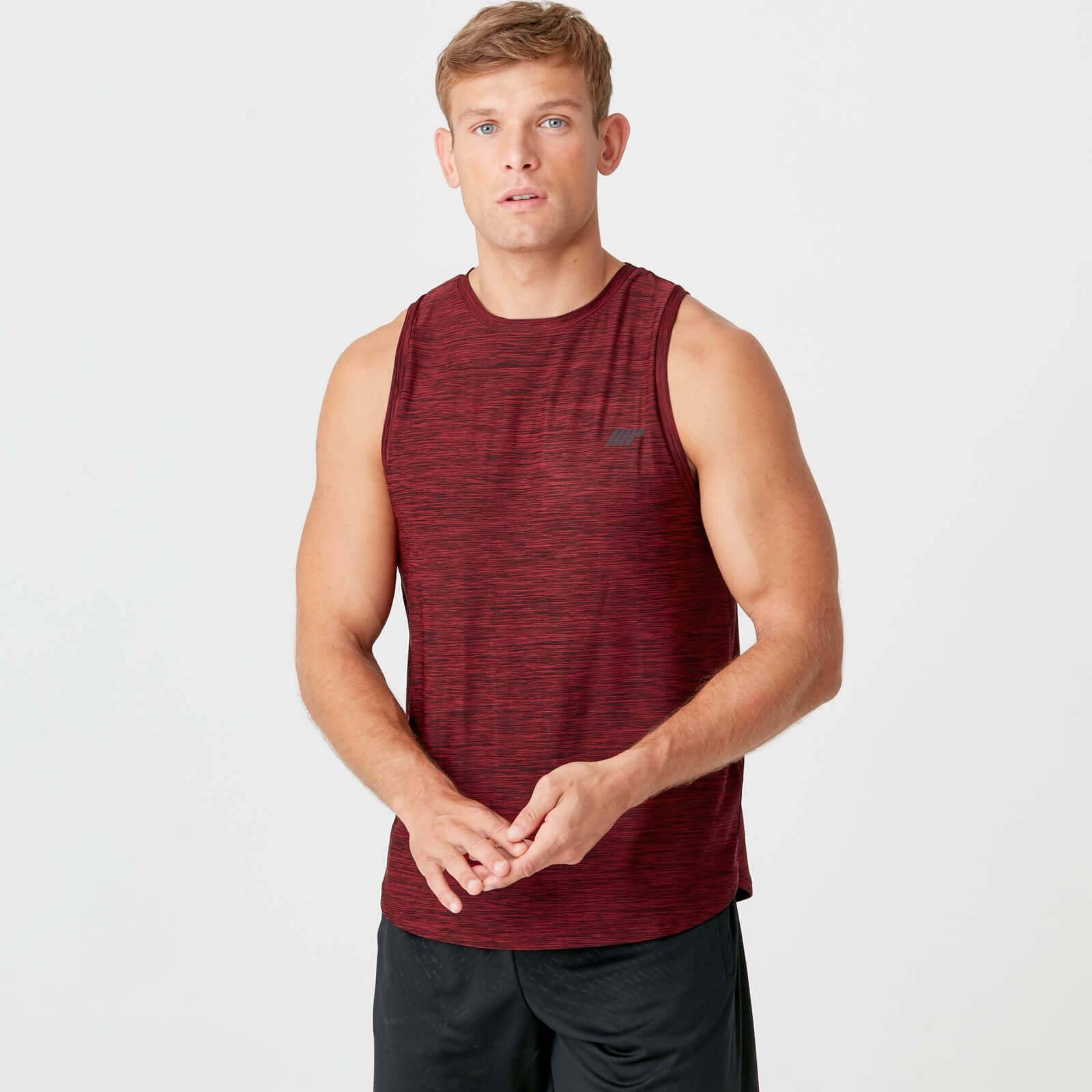 Myprotein Dry-Tech Infinity Tank - L - Red Marl