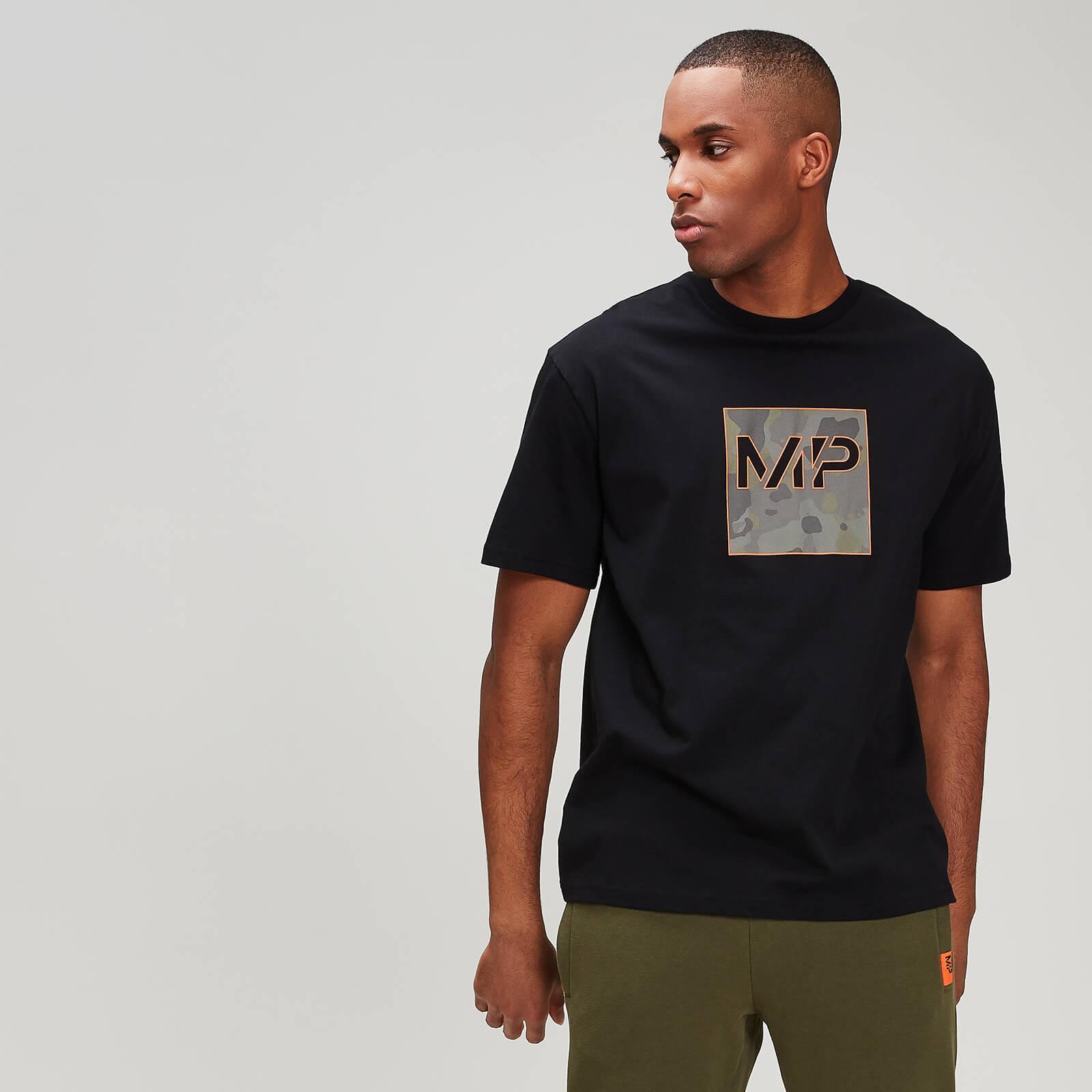 Myprotein Camo Square T-Paita - Musta - M