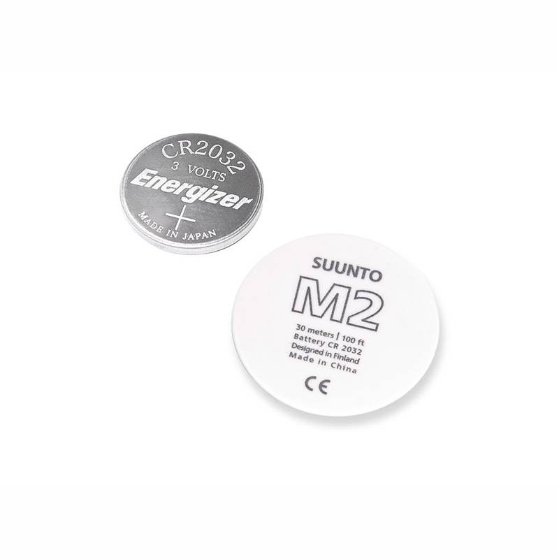 Suunto Battery M2 White Replacement Kit