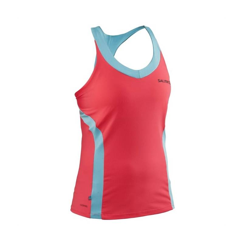 Salming Strike Tank Top Diva Pink XS