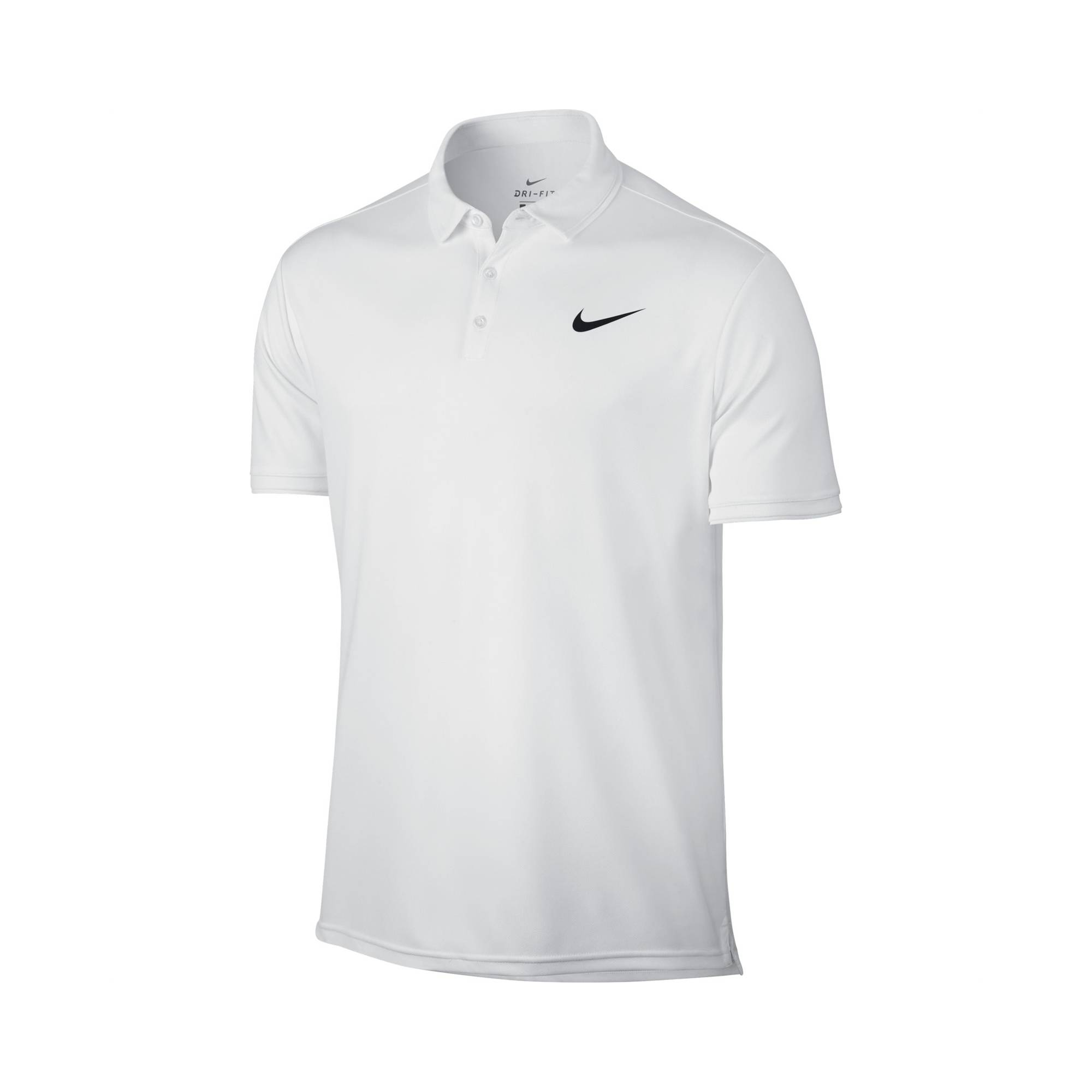 Image of Nike Dry Team Polo All White L