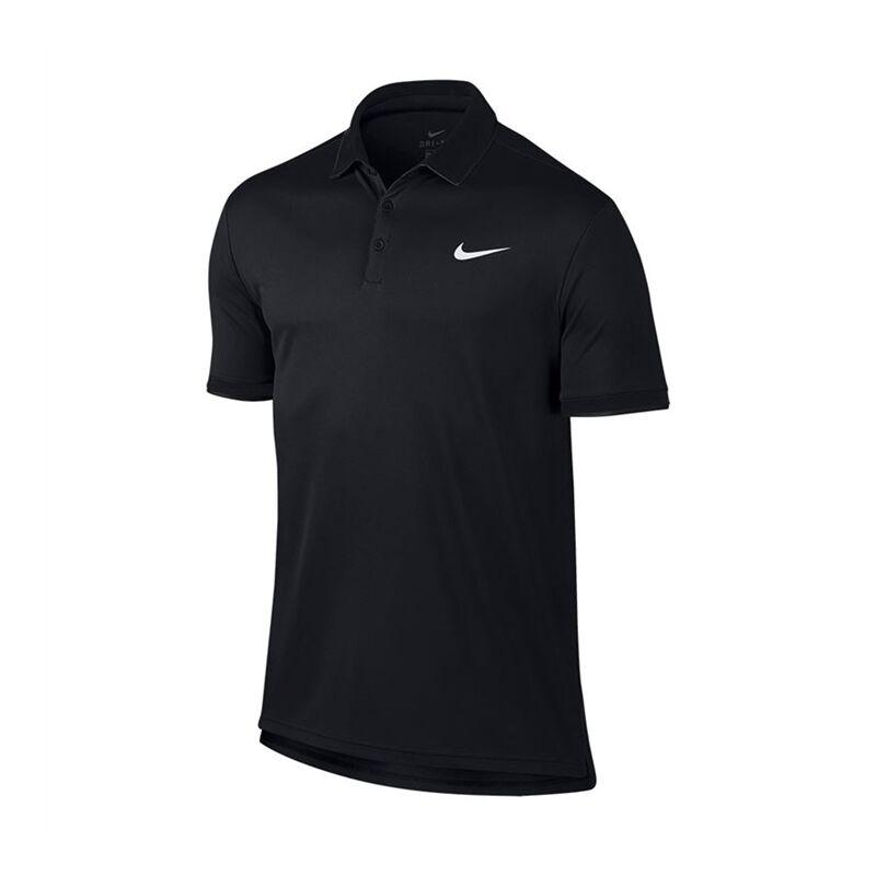 Image of Nike Dry Polo Team All Black M