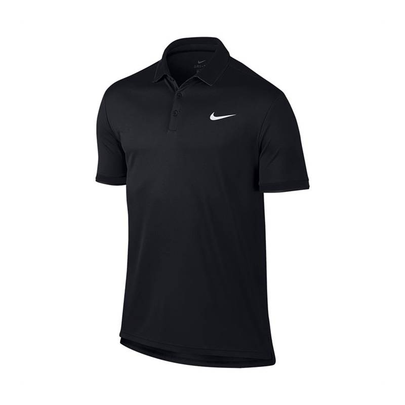 Image of Nike Dry Polo Team All Black L