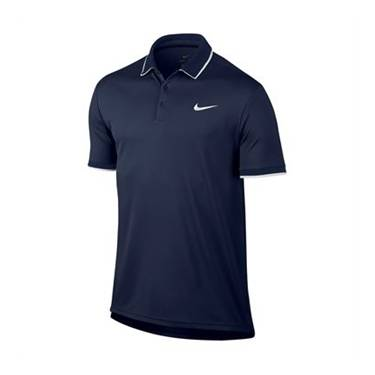 Image of Nike Dry Team Polo Navy Size S L
