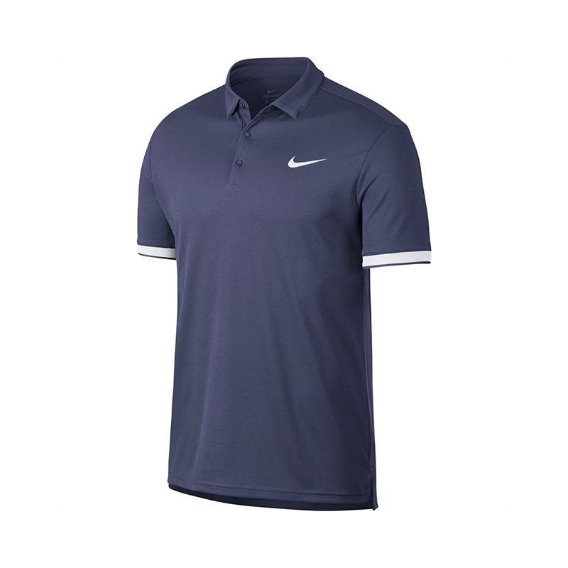 Image of Nike Dry Team Polo Blue Recall Size S M