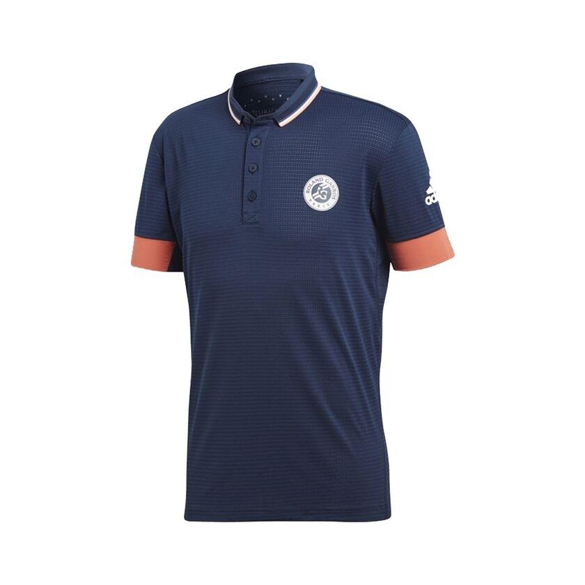 Image of Adidas Roland Garros Climachill T-Shirt Navy Size L M