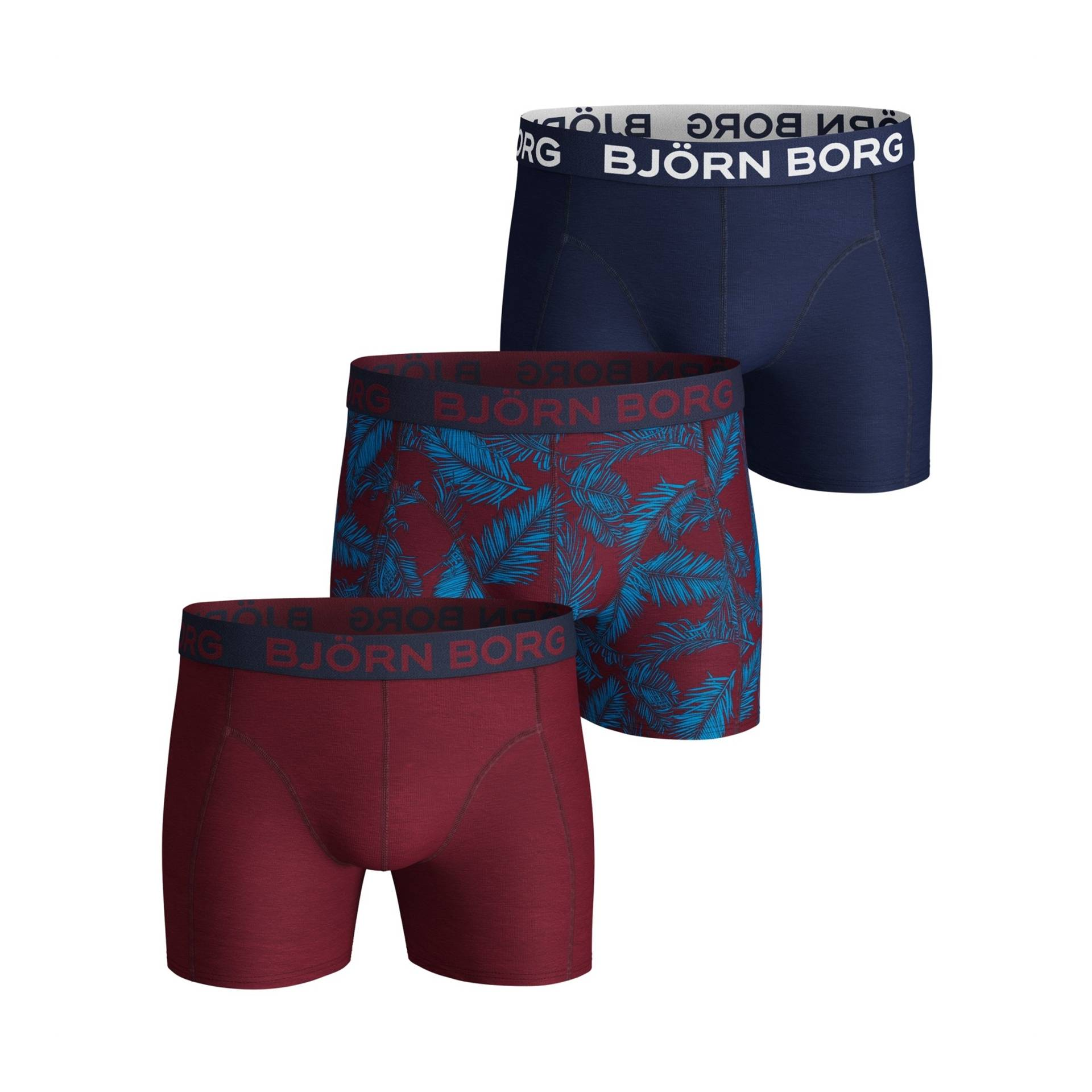 Björn Borg NY Palmleaf Sammy Shorts 3-pack XL