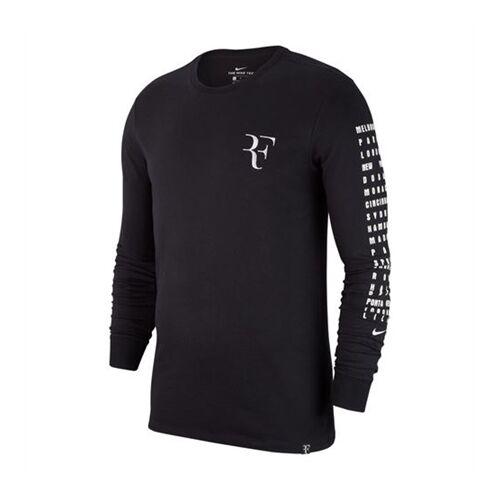Image of Nike Long Sleeve Tee RF Black M