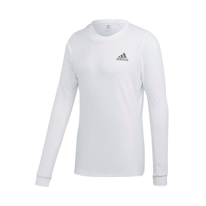 Image of Adidas Long Sleeve Tee White M
