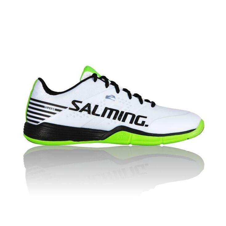 Salming Viper 5 Men White/Black/Green 44