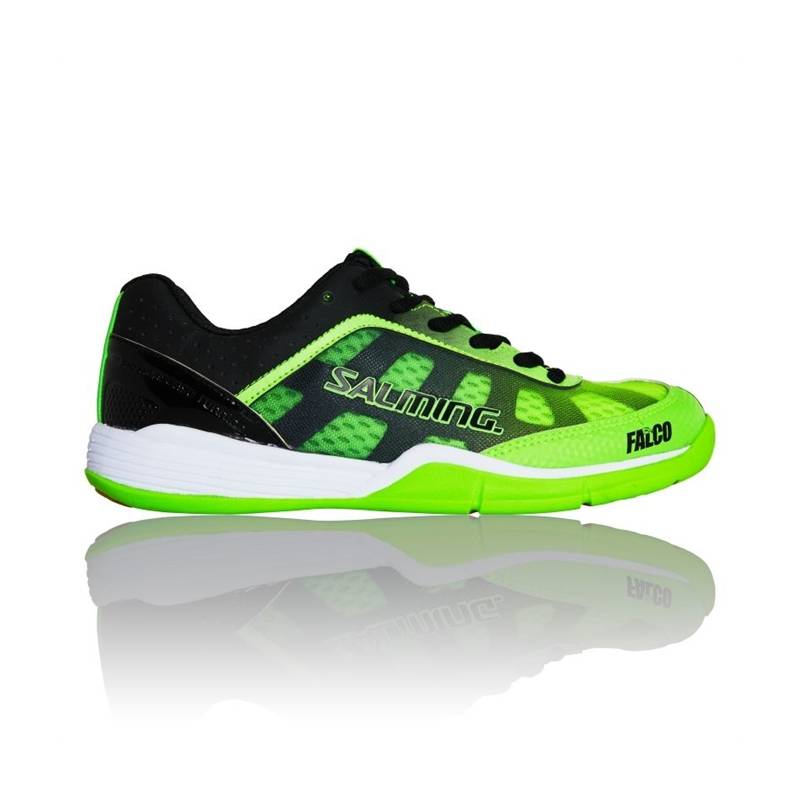 Salming Falco Junior Fluo Green/Black 38 2/3
