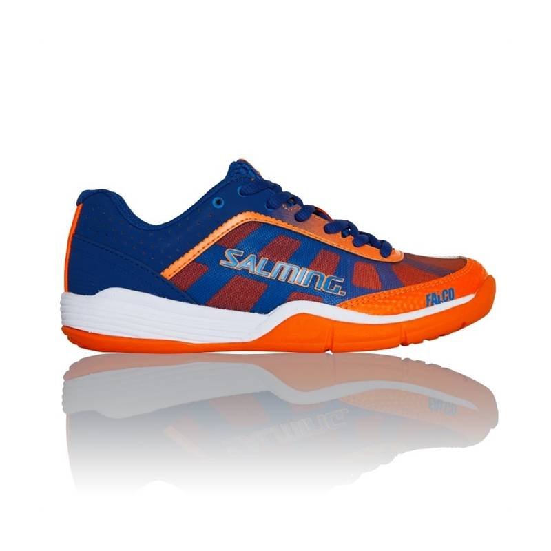 Salming Falco Kid Blue/Orange 33 1/3