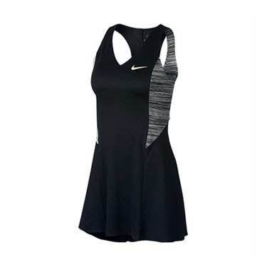 Image of Nike Court Dri-Fit Sharapova Dress Black/Wolf Grey XS