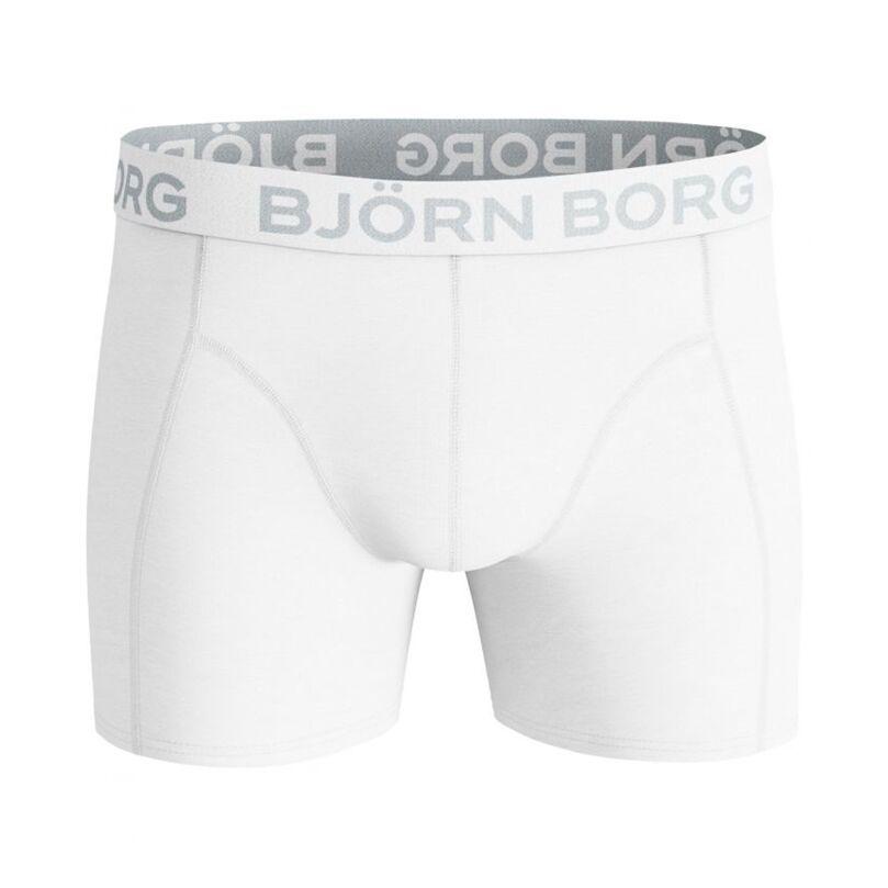 Björn Borg Solid Cotton Stretch Shorts White XL