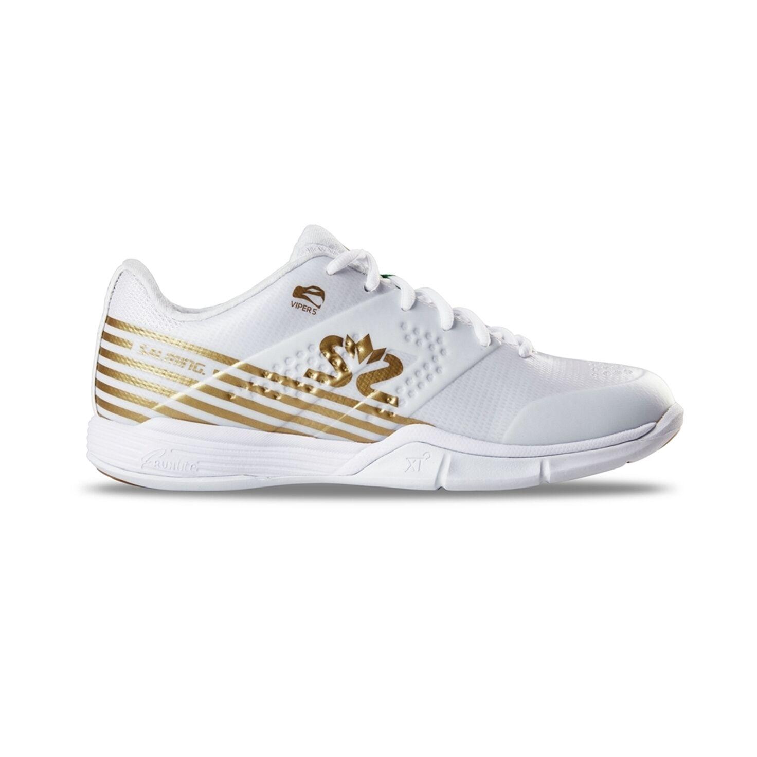 Salming Viper 5 Women White/Gold 38