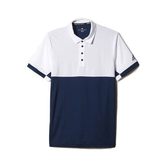 Image of Adidas T16 CC Polo Men Navy Size S M