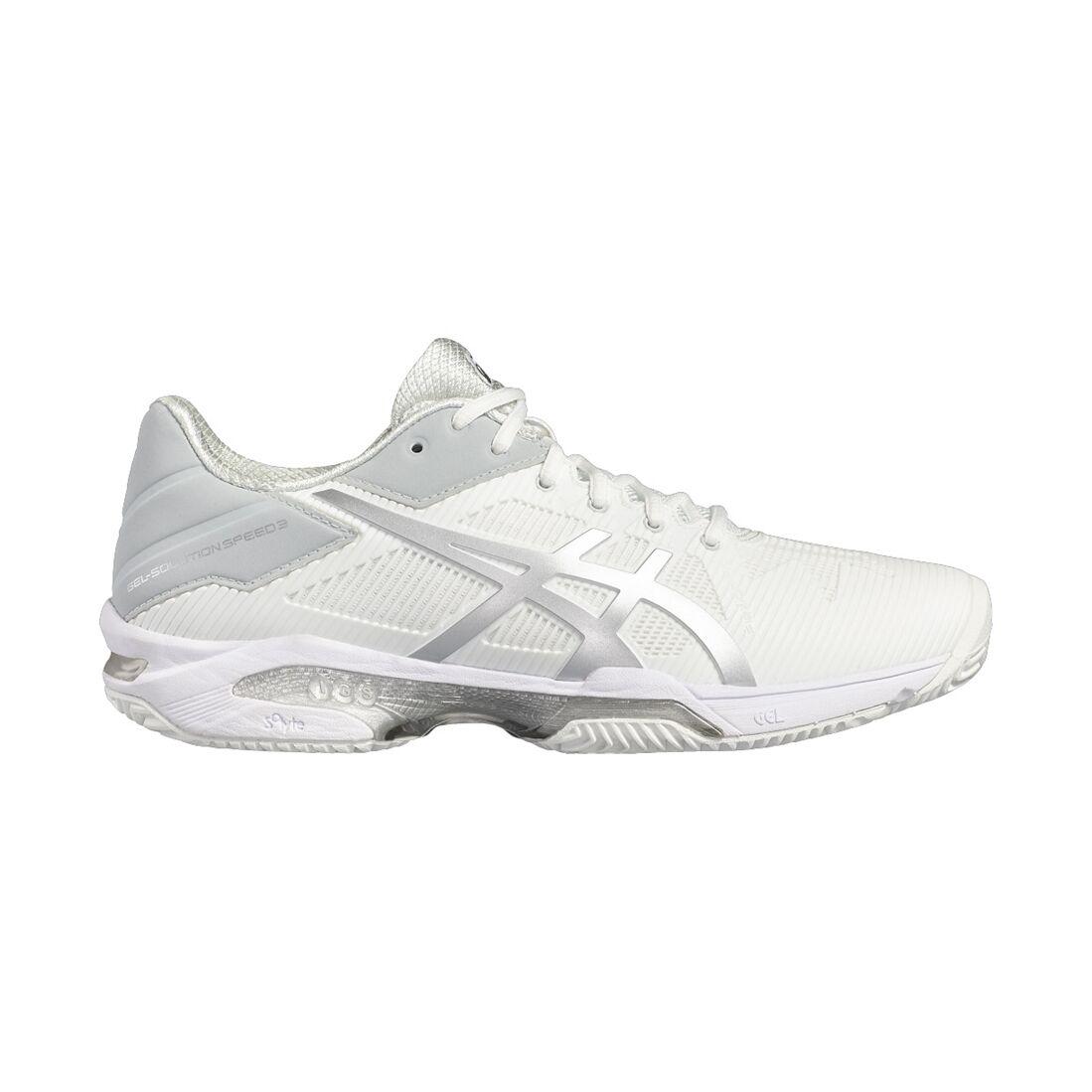 Asics Gel-Solution Speed 3 Clay/Padel Women White 37