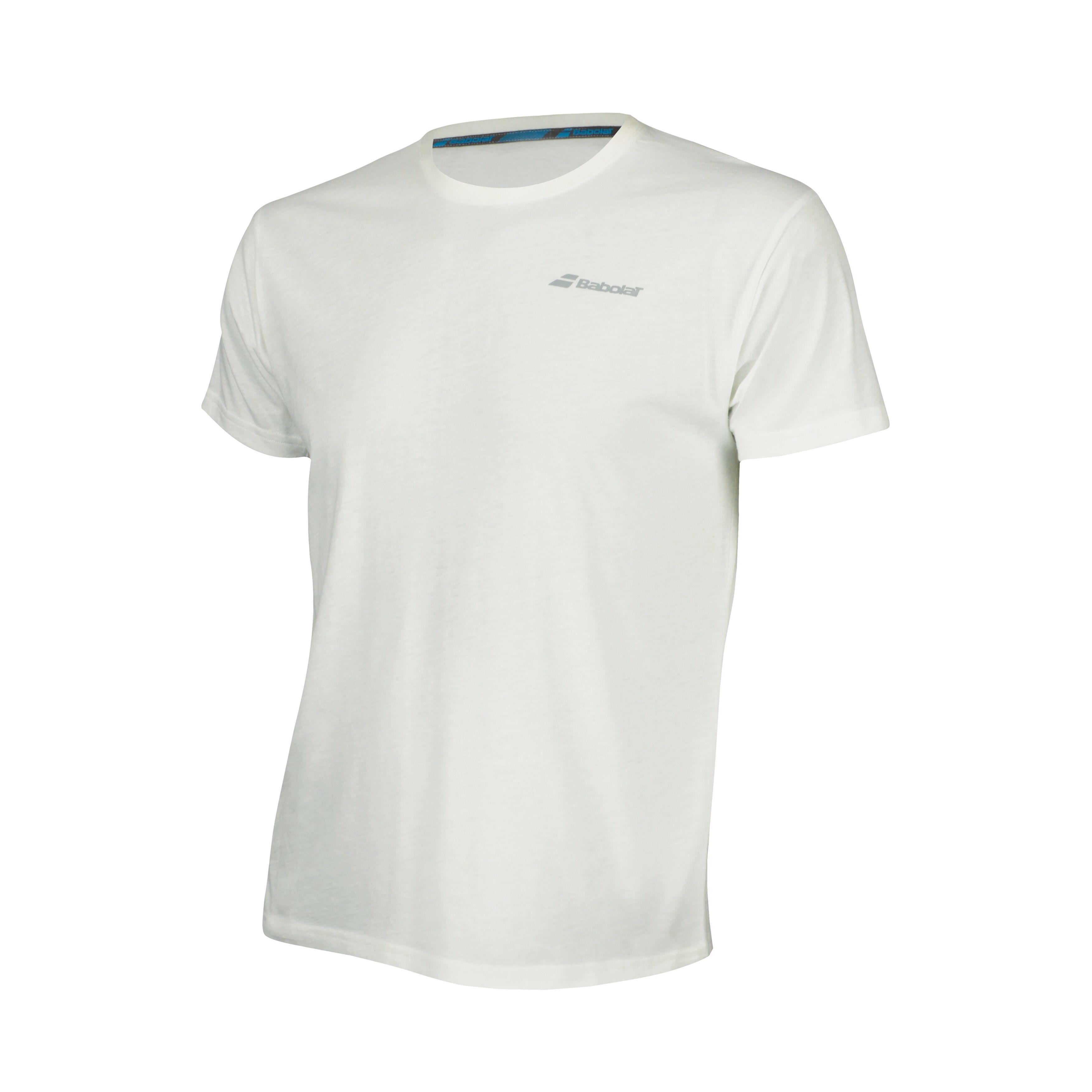 Babolat Core Tee-Shirt Boy White 140