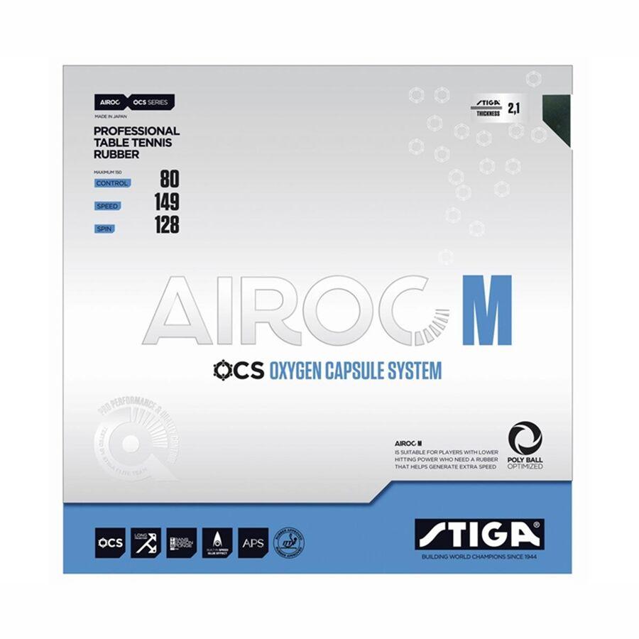 Stiga Airoc M Svart 2,1 mm (Max)