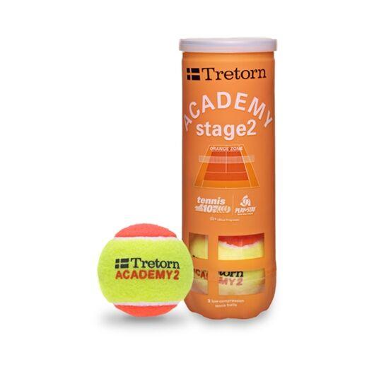 Tretorn Academy Orange Stage 2. 10 tuubia