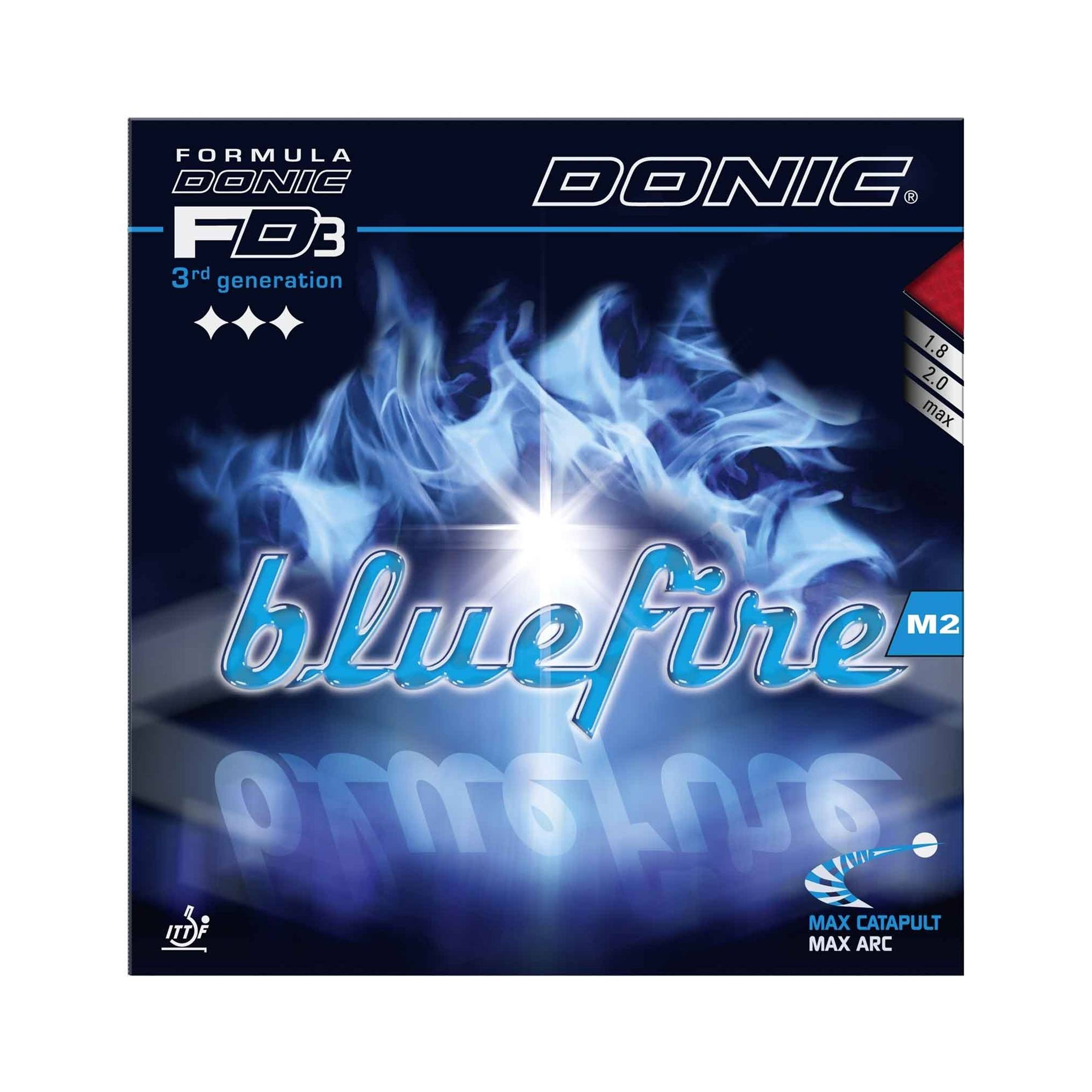 Donic Bluefire M2 Röd 2.0 mm