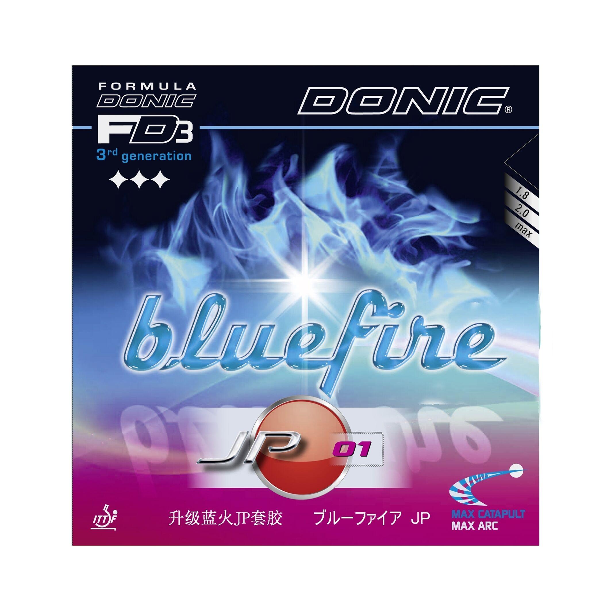 Donic Bluefire JP 01 Svart 2.0 mm