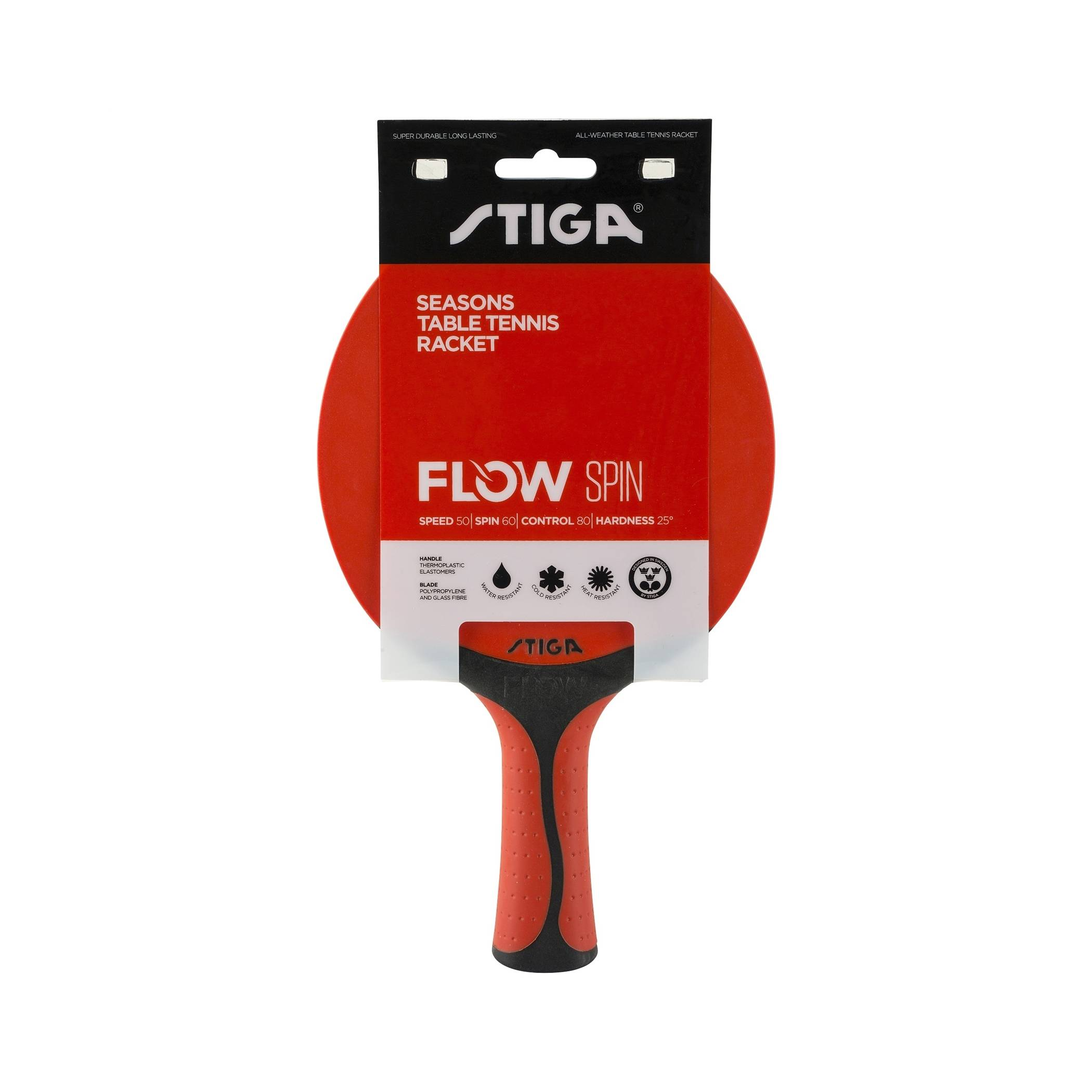 Stiga Flow Spin Red/Black
