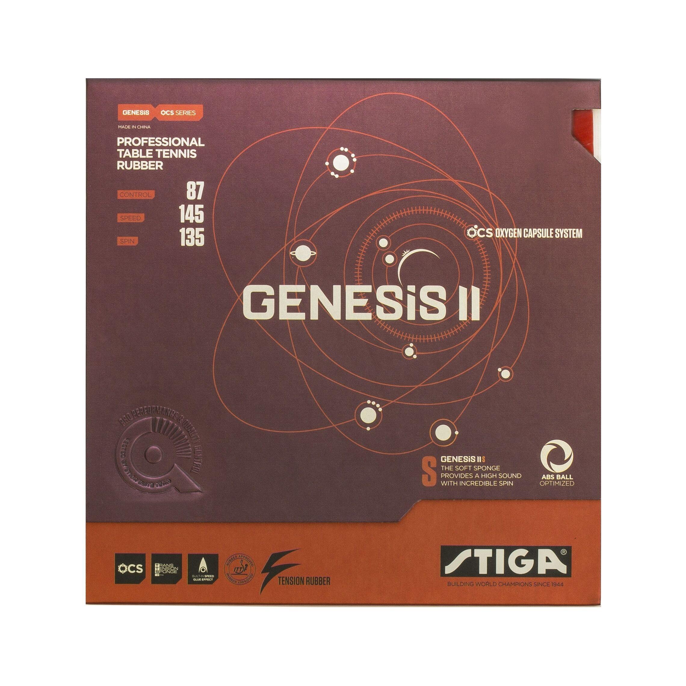 Image of Stiga Genesis II S Red 2.0mm
