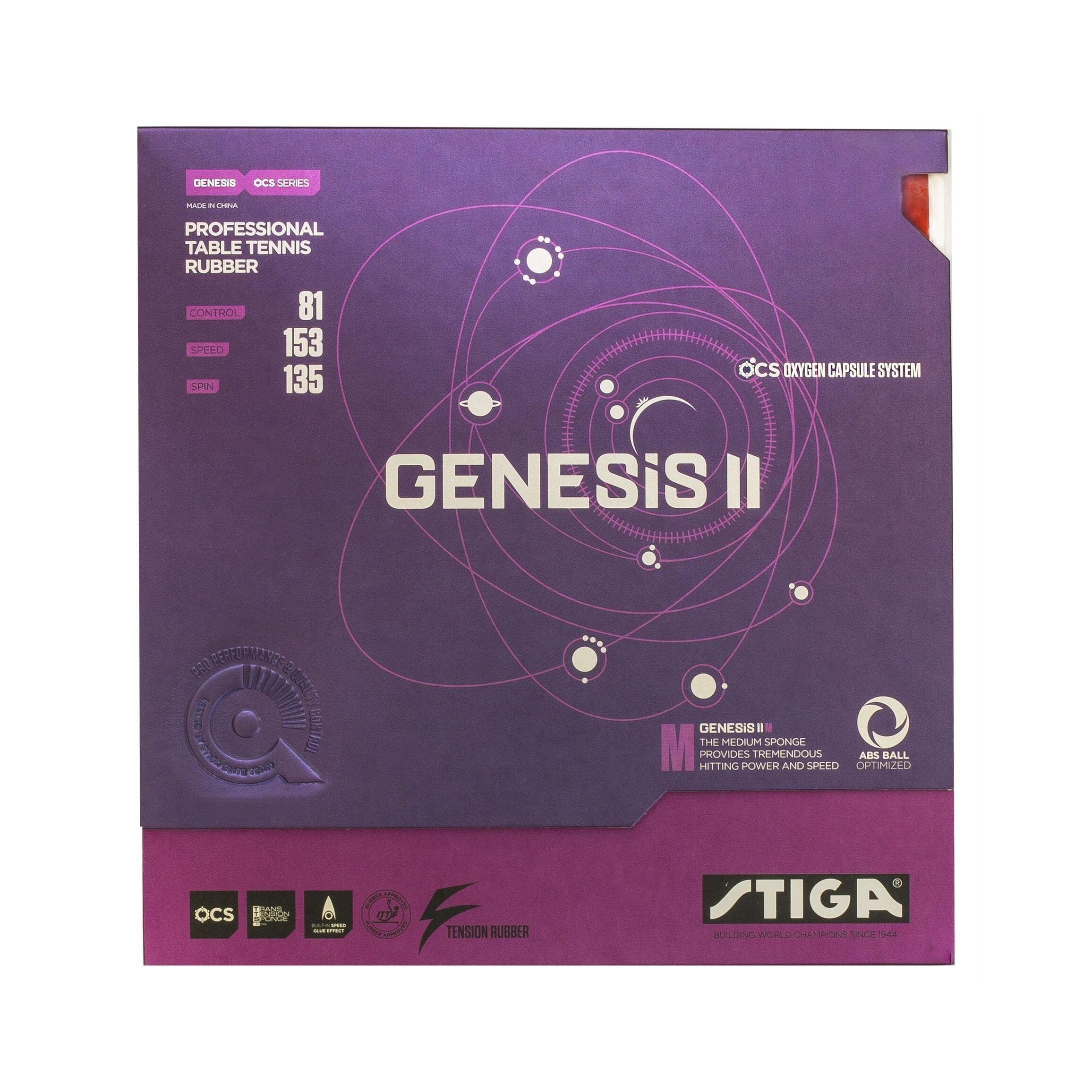 Stiga Genesis II M Red 2.2mm