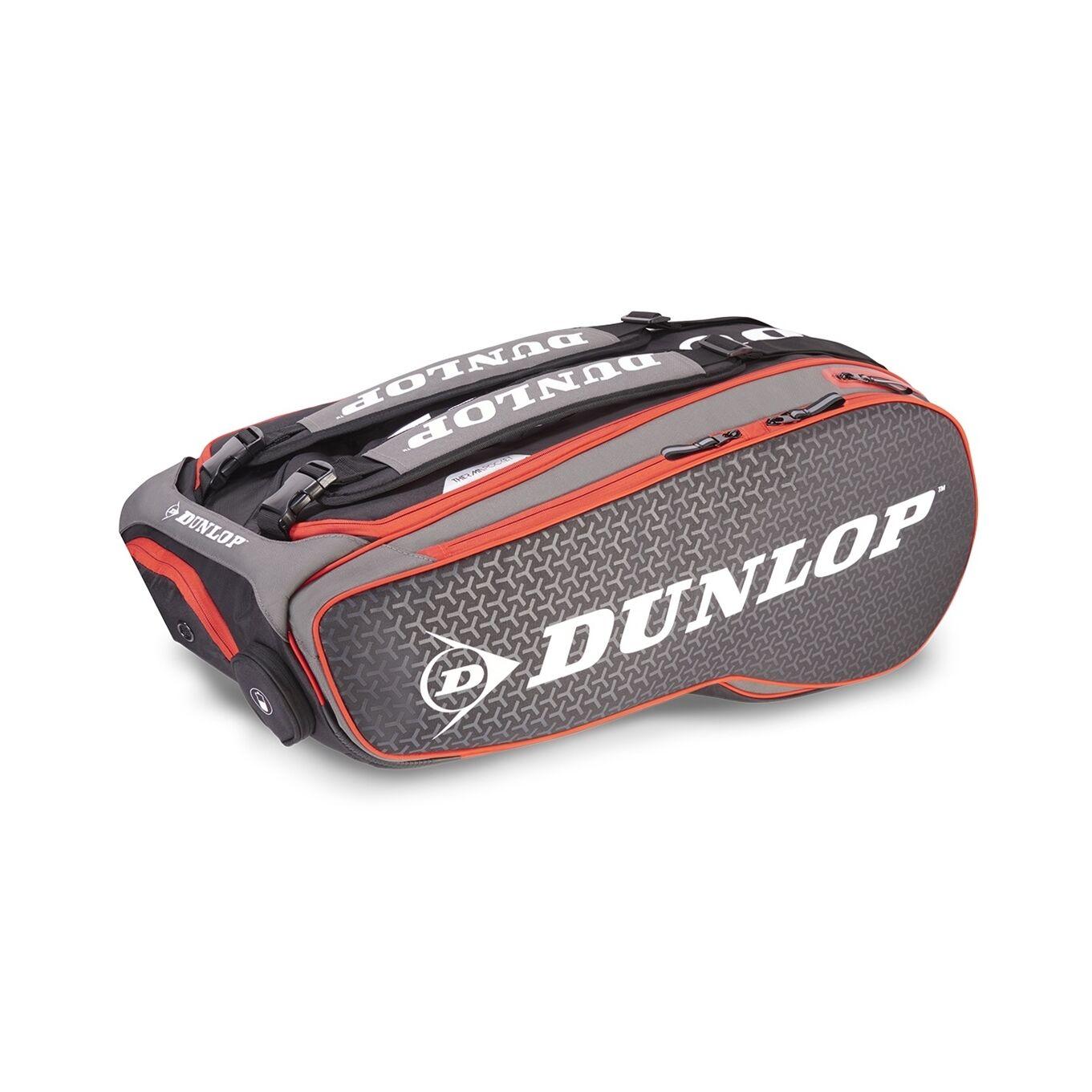 Dunlop Performance 12 Racket Bag Black