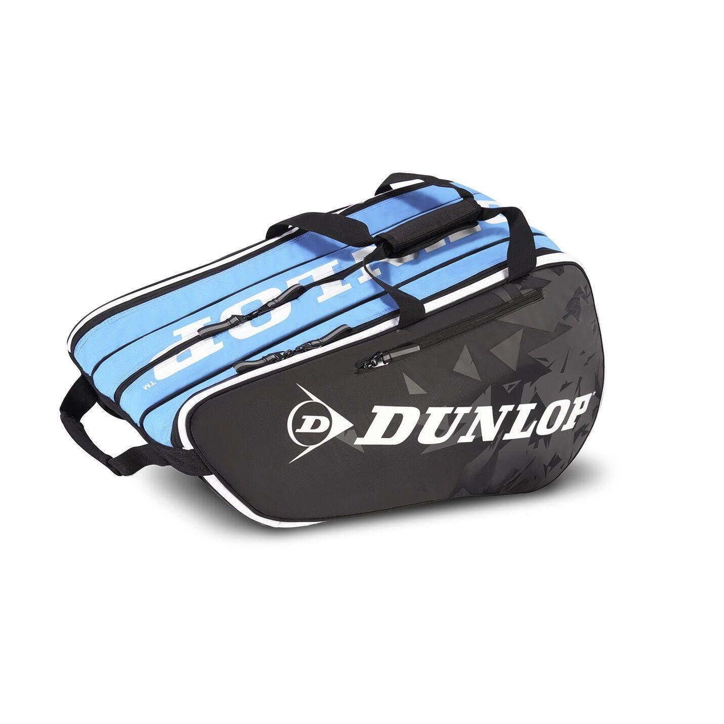 Dunlop Tour 10 Racket Bag 2.0 Black/Blue