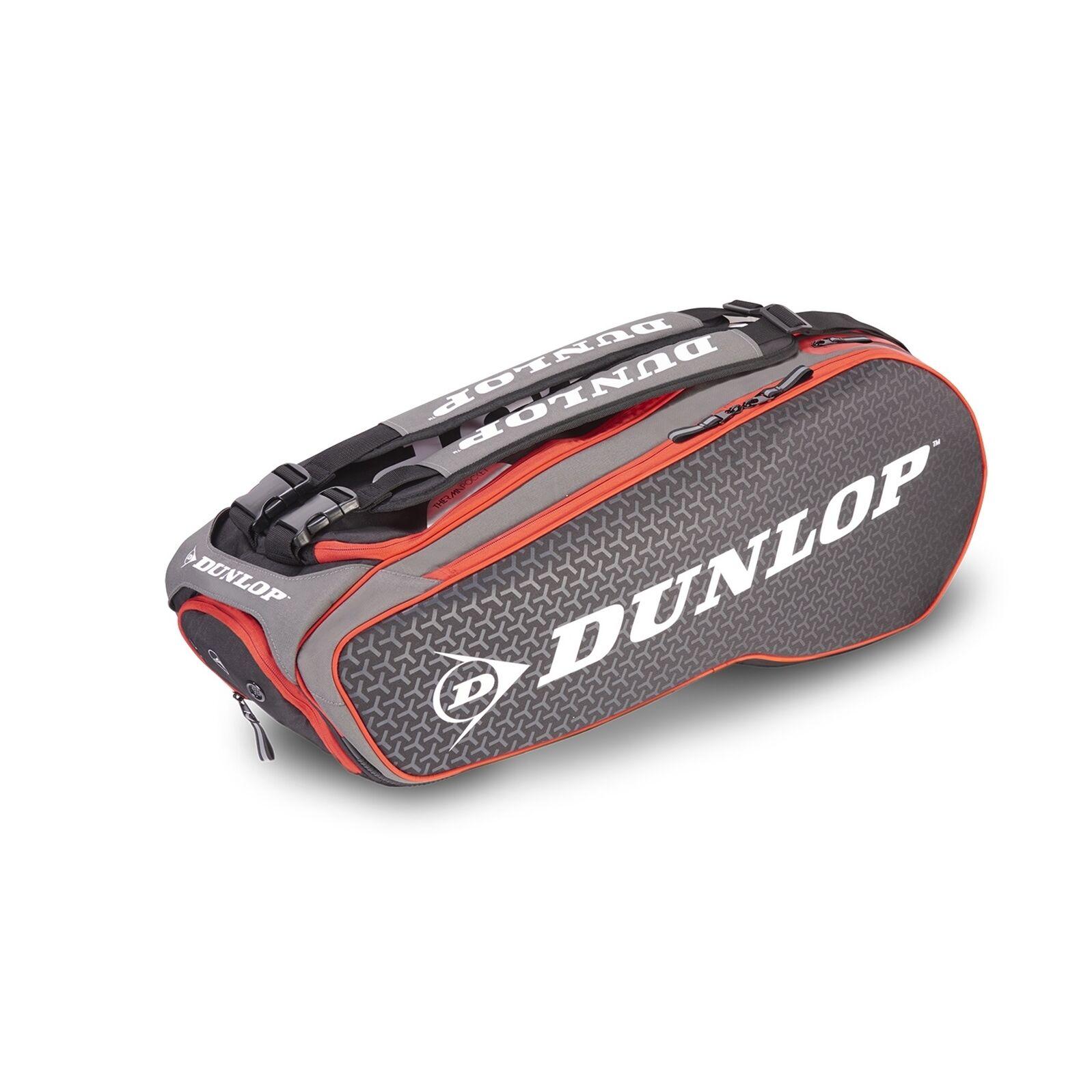Dunlop Performance 8 Racket Bag Black