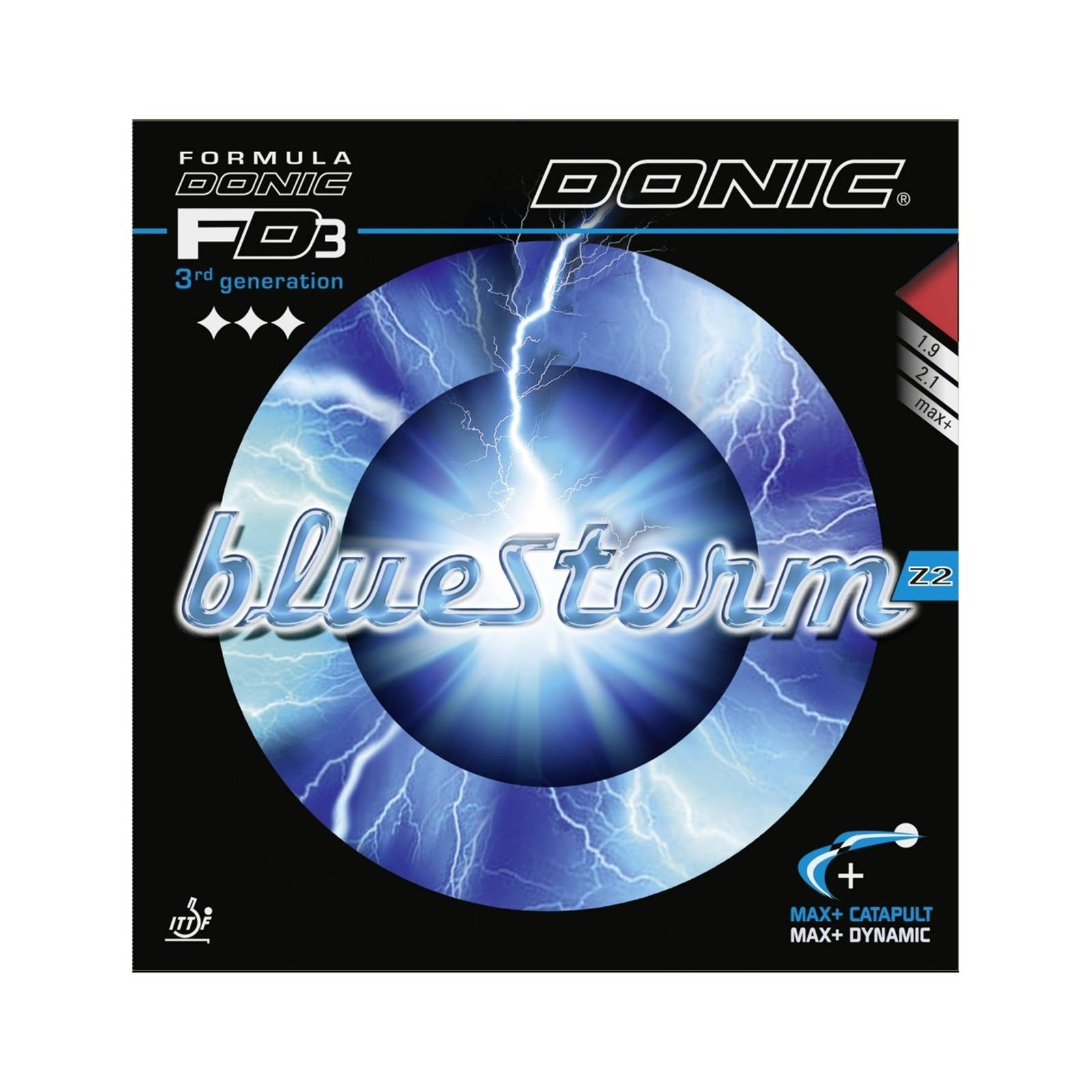 Donic Bluestorm Z2 Red 2,1mm