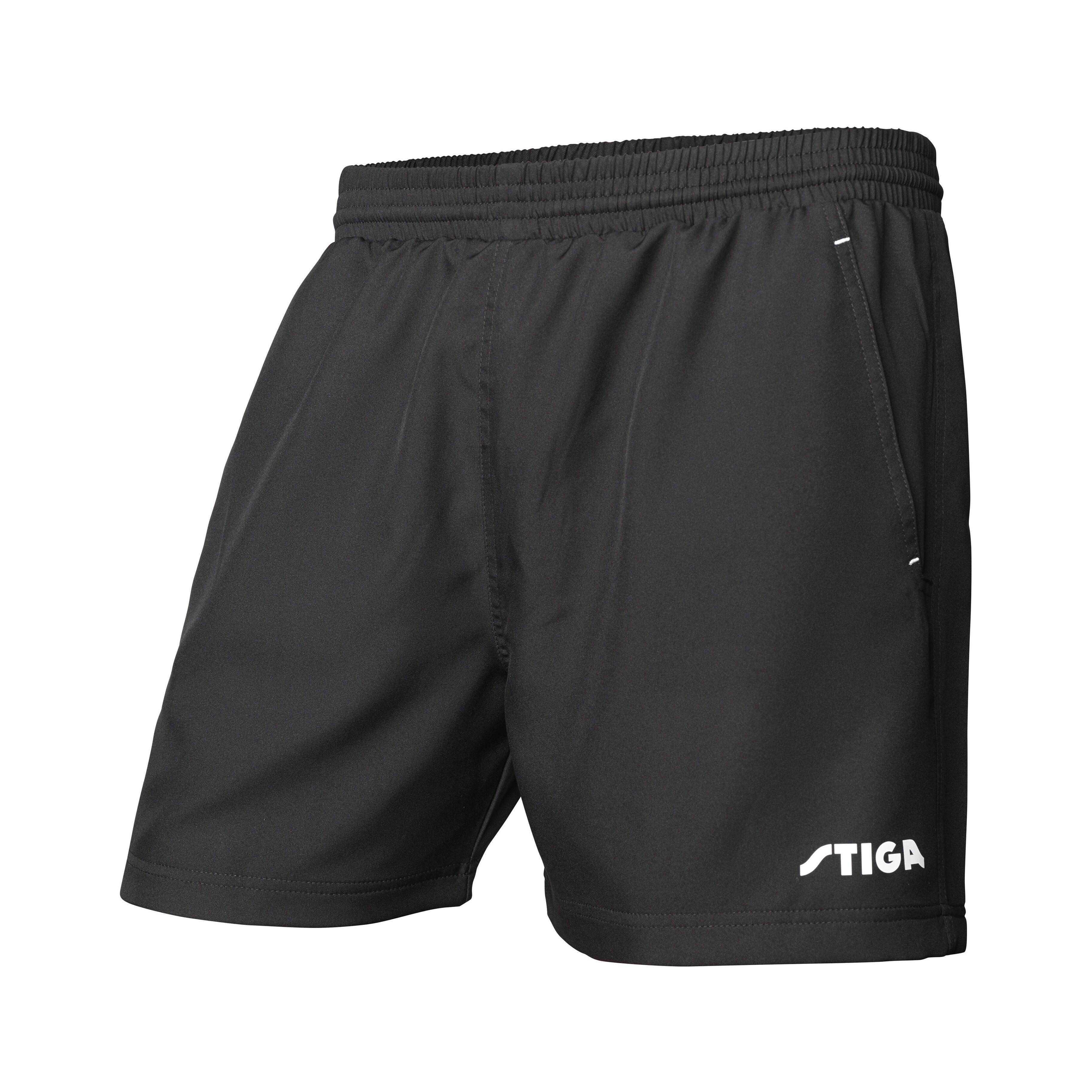 Stiga Marine Black Shorts XL
