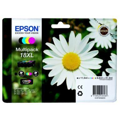 Epson Multipack BK/C/M/Y (T1811, T1812, T1813, T1814) T1816 Replace: N/A
