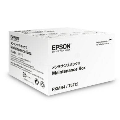 Epson Waste ink cartridge, 75.000 sivua T6712 Replace: N/A