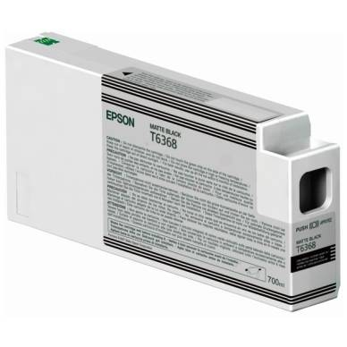 Epson Mustepatruuna mattmusta 700 ml T6368 Replace: N/A