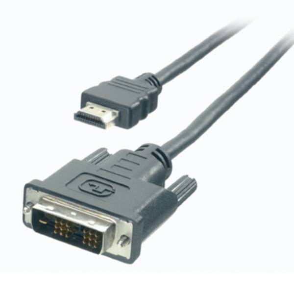 Vivanco HDMI uros - DVI uros- kaapeli, 2 m 4008928420562 Replace: N/A