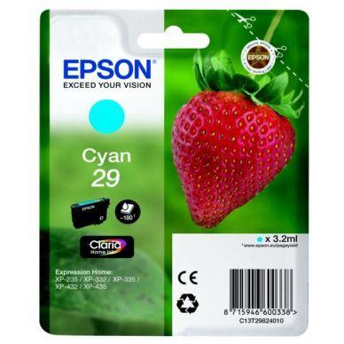 Epson Mustepatruuna cyan (Epson 29) 180 sivua T2982 Replace: N/A