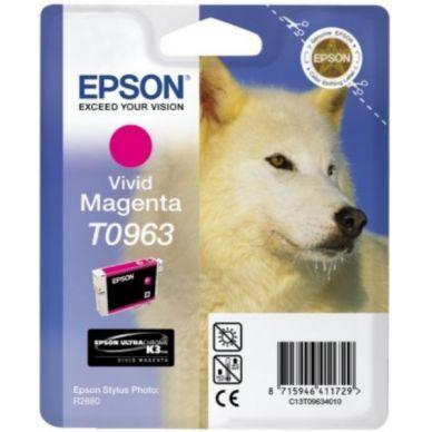Epson Mustepatruuna Vivid magenta T0963 Replace: N/A