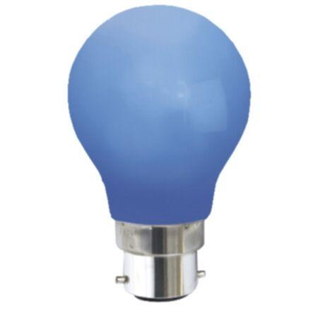 Star Trading Sisustus LED B22 sininen 356-49-3 Replace: N/A