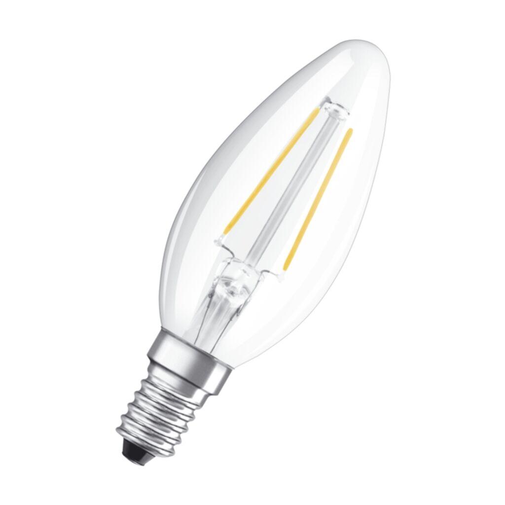 OSRAM Osram LED Retrofit KynttilÃ?lamppu E14 2W 4052899936416 Replace: N/A