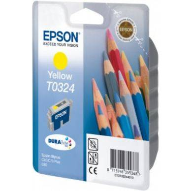 Epson Mustepatruuna keltainen 16ml T0324 Replace: N/A